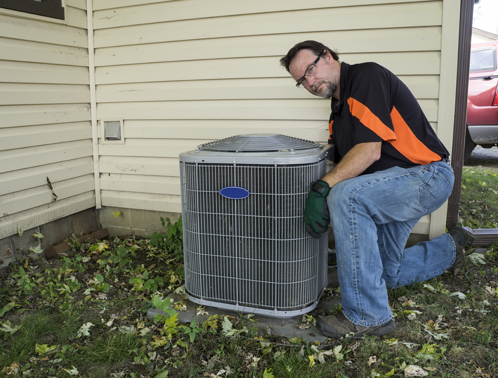 How To Prepare An Outside Air Conditioner Unit For Winter